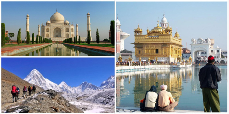 Golden Triangle-Golden Temple - HImalaya Tour